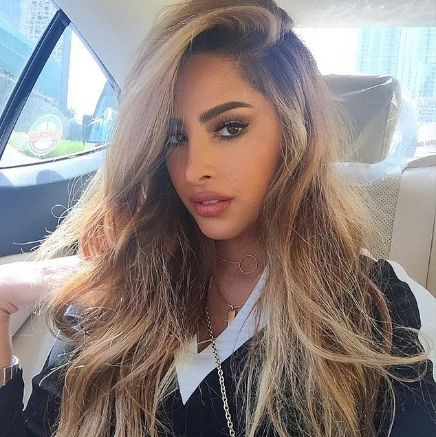 Fouz Alfahad with some of the greatest hair ever to be seen. | Middle Eastern Beauty Bloggers | POPSUGAR Beauty