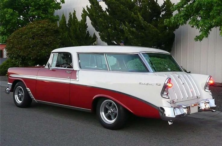 Chevrolet Bel Air Nomad....