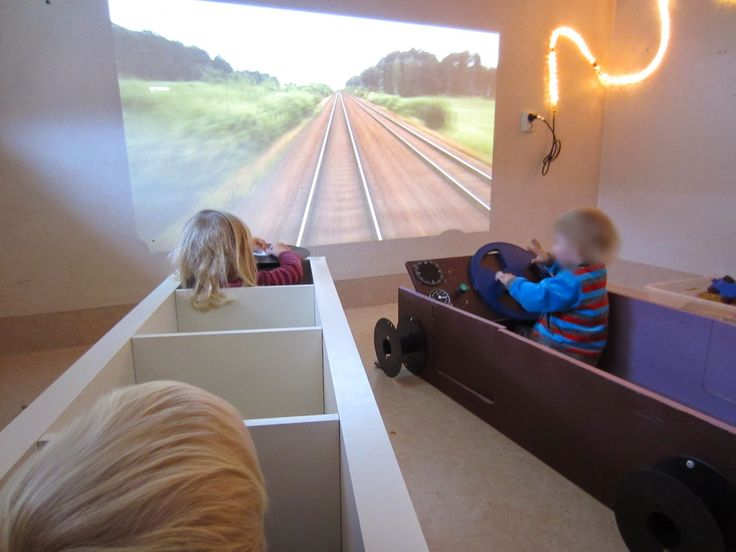 Syrenen Töreboda Blog: Trains-Vehicle project rolls on