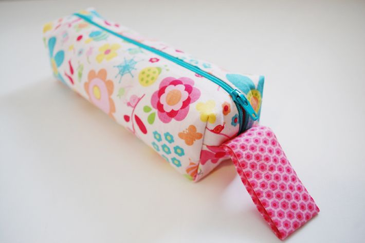 """Originally this """"pencil case"""" was a back to school project. Once completed I immediately filled it with sewing tools. It was in that moment I decided it would probably never make it to school. I..."""