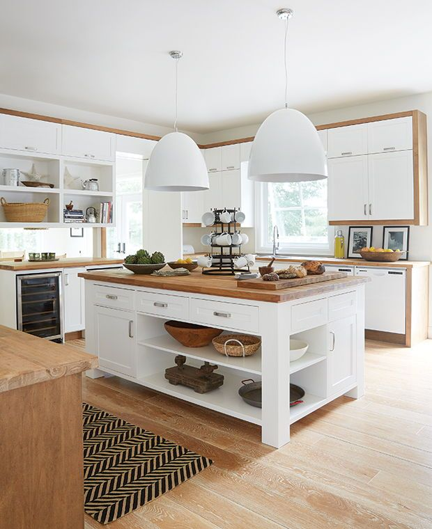 عکس طراحی آشپزخانه با استفاده از جزیره