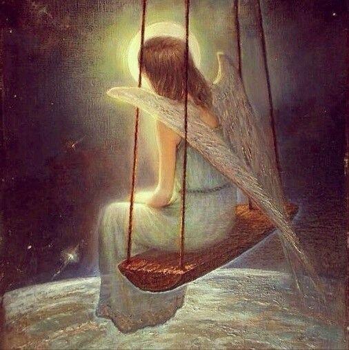 """Ко мне мой Ангел прикоснулся, Когда, казалось, песня спета! Взглянул мне в душу, улыбнулся И прошептал: """"Пройдёт и это..."""""""