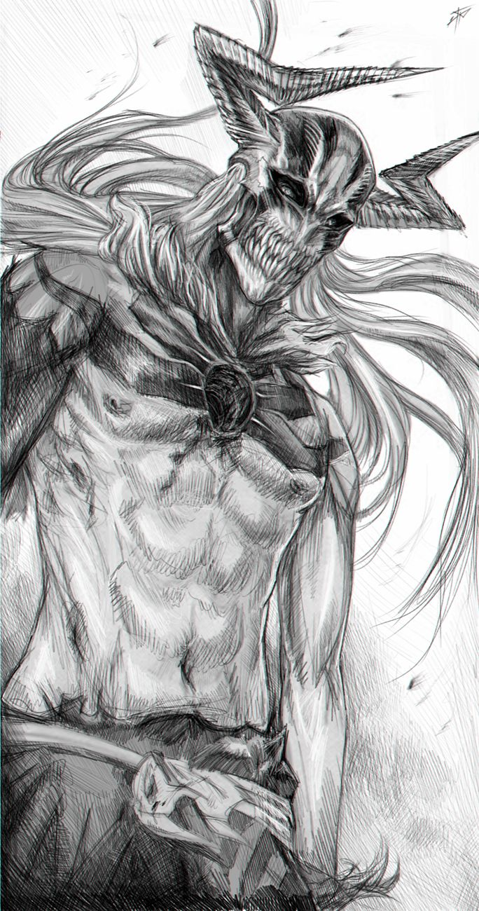 Ichigo - Vasto Lorde by ~RomaniacC on deviantART