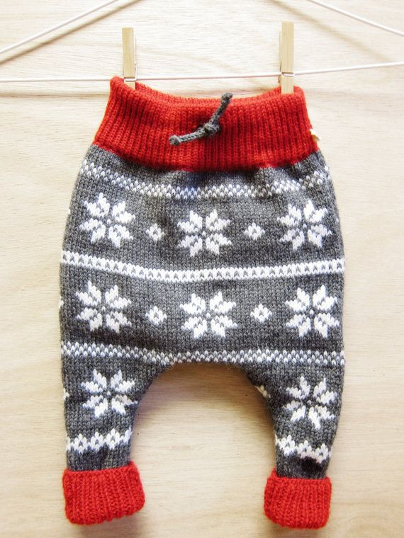 Knitted Kedge Trousers by 'Camp And Company' on Etsy, €45