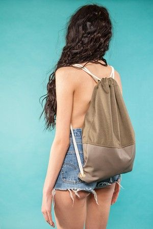 "Gym Bag ""Taupe Field""  49 EUR"