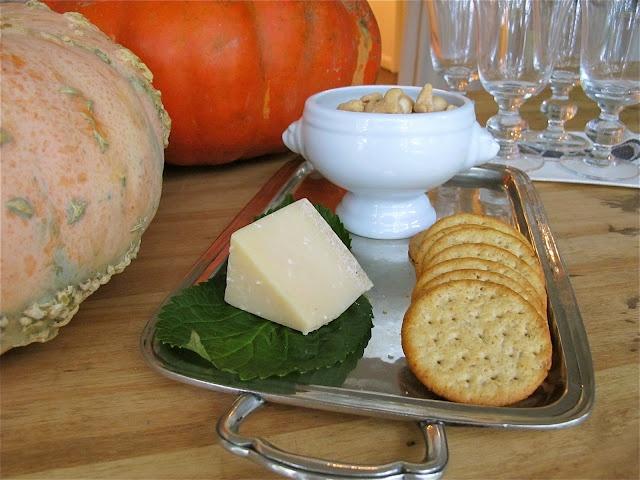 Jenny Steffens Hobick: Entertaining | Fall Harvest Dinner Party | Butternut Squash Soup, Seared Steaks & Apple Crisp