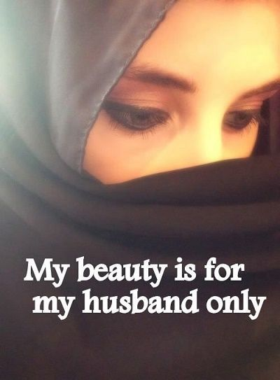 Stunning hijab quote Facebook DP for girls