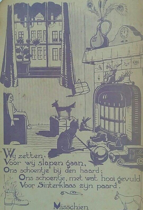 Sinterklaas kapoentje  (illustratie ca.  1920)