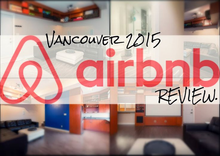 Air BnB 500 sqft studio Vancouver BC 2015