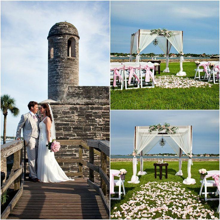 Castillo De San Marcos Fort Wedding St Augustine Beach Sun And Sea