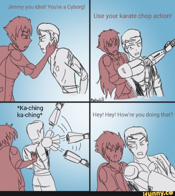 Why is qrow from Rwby in this???? <<< because it's a RWBy joke??