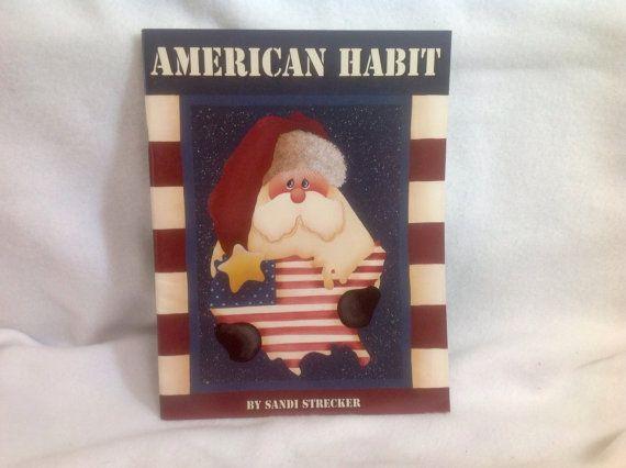 American Habit by Sandi Strecker  Book of by HenHouseMarketPlace
