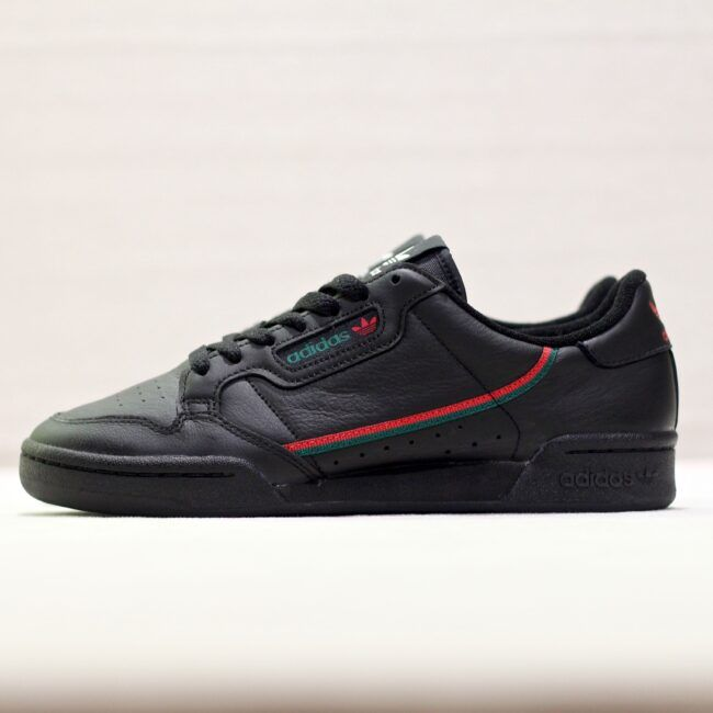 adidas Continental 80 Noir Vert Rouge | Adidas, Charles ...