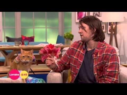 James Bowen Bob The Cat Lorraine 2014