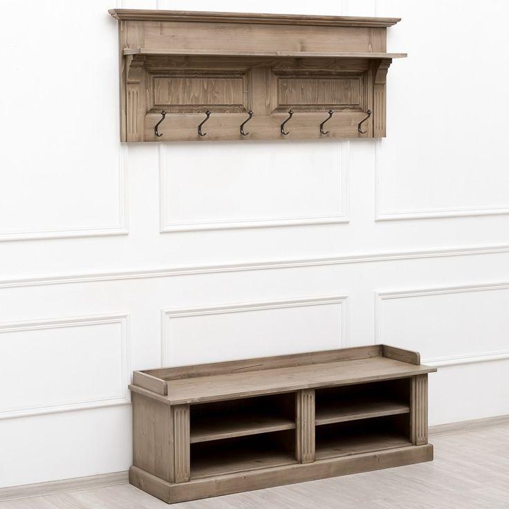 Avignon вешалка со скамейкой в стиле Прованс - Прихожая - Прочая мебель - Мебель…