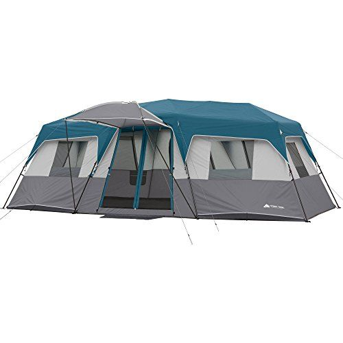Ozark Trail 15Person 3 Room Split Plan Instant Cabin Teal -- Check out the image by visiting the link. This is an Amazon Affiliate links.