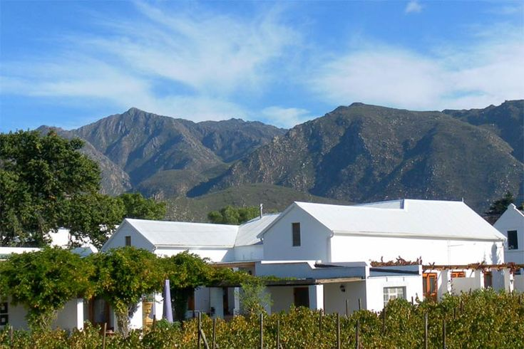 The Vineyard Country House - The Vineyard Country House lies nestled at the foot of the Langeberg Mountain Range, on a working fruit and vineyard farm.  We offer four beautifully styled, luxurious en-suite bedrooms, all with private ... #weekendgetaways #montagu #southafrica