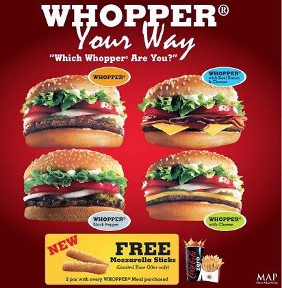 2014, Burger King, Daftar Harga, Harga Menu, Harga Menu Burger King Indonesia, menu burger king delivery,