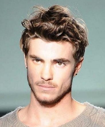Short Haircut Styles For Men With Curly Hair Trends Mens Long