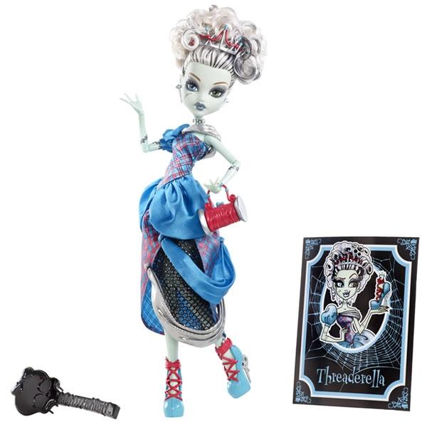 Frankie Stein als 'Frankierella' X4486 aus: Monster High Märchen-Monster X4483 Puppen Sortiment