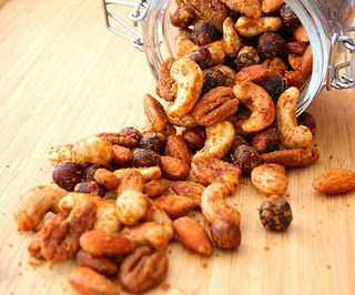 buffalo spiced nuts