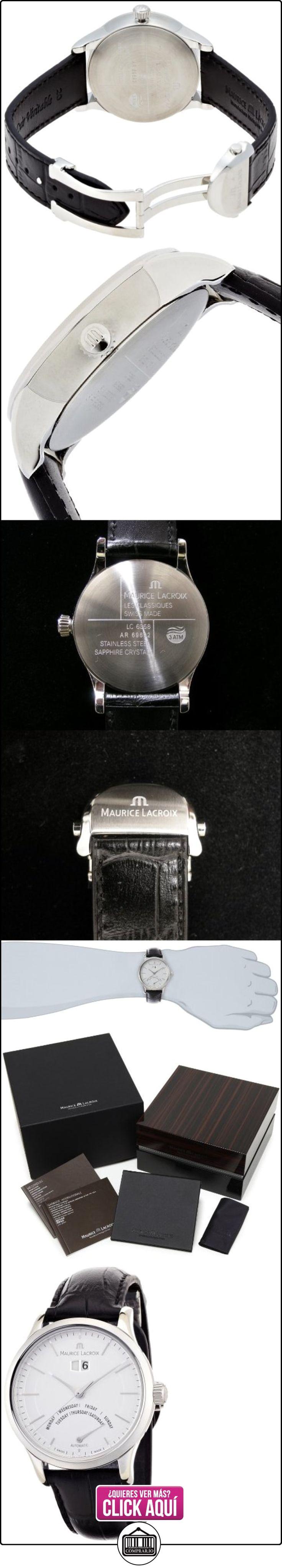 Reloj Maurice Lacroix Les Classiques Jour Rétrograde LC6358-SS001-13E  ✿ Relojes para hombre - (Lujo) ✿ ▬► Ver oferta: http://comprar.io/goto/B005SYDNQ6