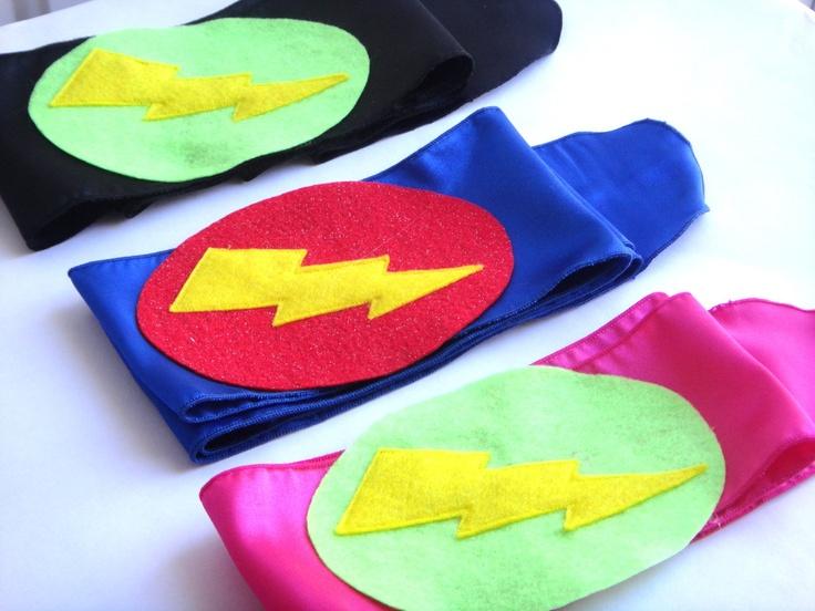 Childrens Superhero Accessory Super Bolt Belts - make myself for costume!