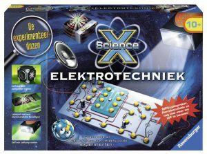 Ravensburger ScienceX Elektrotechniek: spannende en wetenschappelijk verantwoorde experimenten!