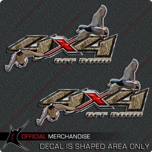 4x4 Truck Duck Hunting Decals Waterfowl by Aftershockit ...