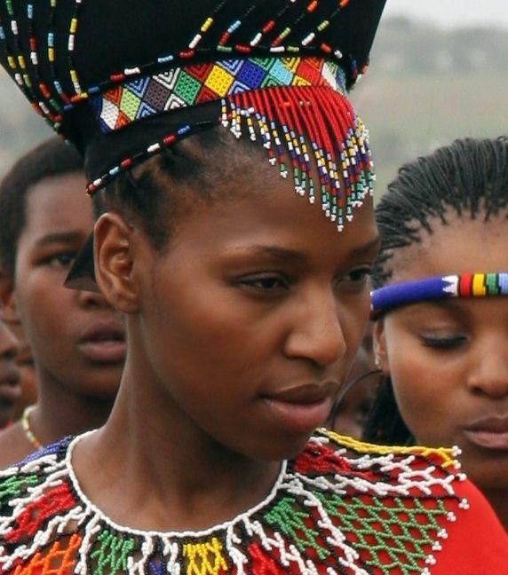 Africa | Zulu Princess Bride.  South Africa | © Stephen Cole