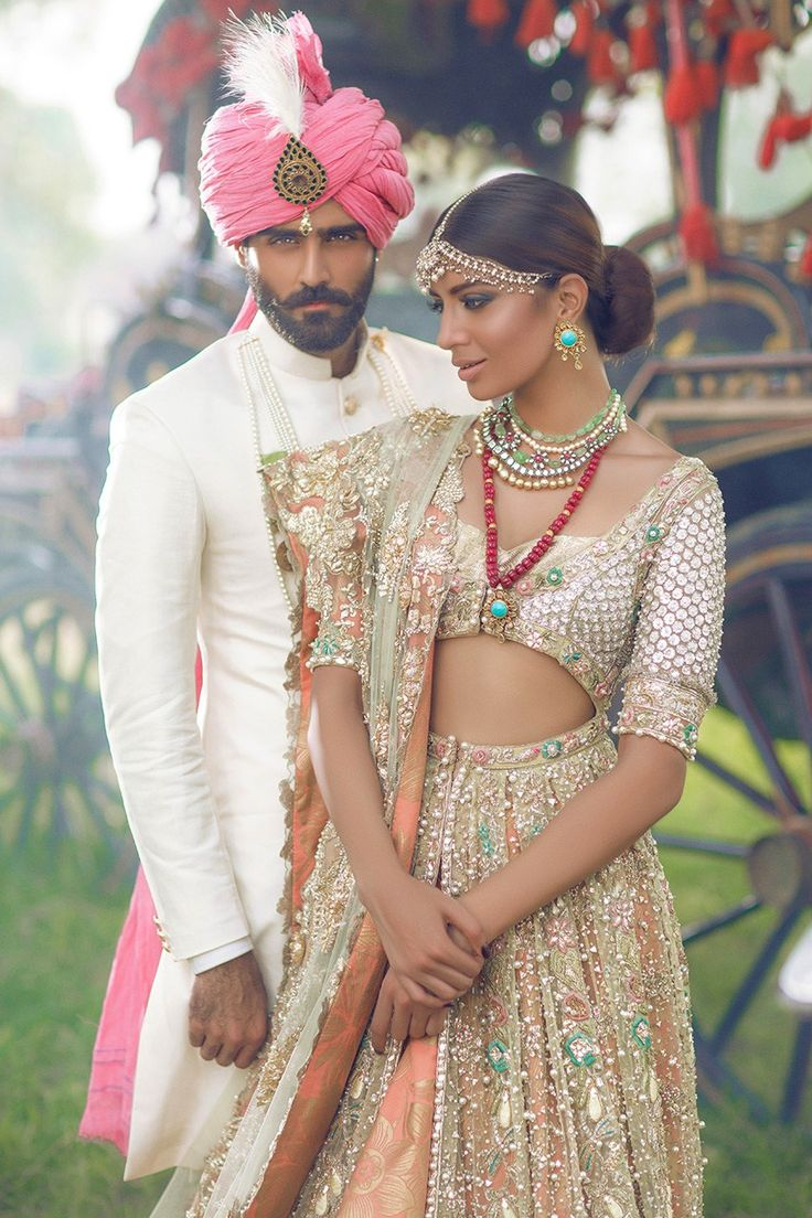 Elan the jasmine court f w 2015 high fashion pakistan for Bride groom dresses for indian wedding