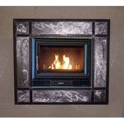 Wrought Iron Frame for Fireplace. Customize Realizations. 406