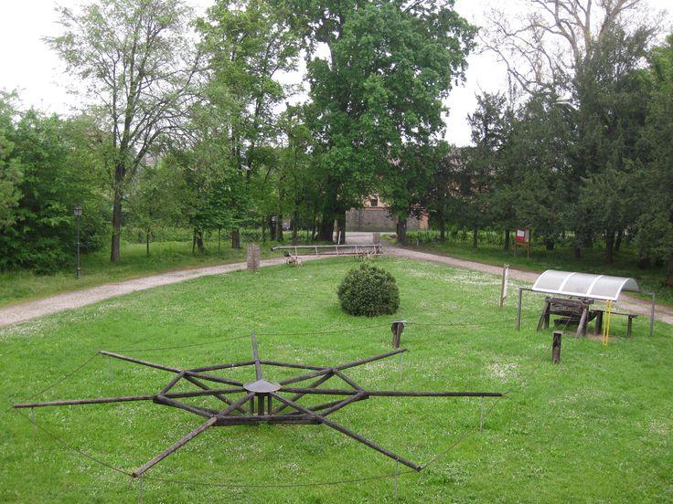 Villa Smeraldi, Museo della civiltà contadina - San Marino di Bentivoglio (BO) - Il parco antistante la Villa.