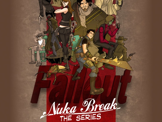 Nuka-Break is a fan-made film in the Fallout Universe.  Their kickstarter crowd-sourced funding is underway.