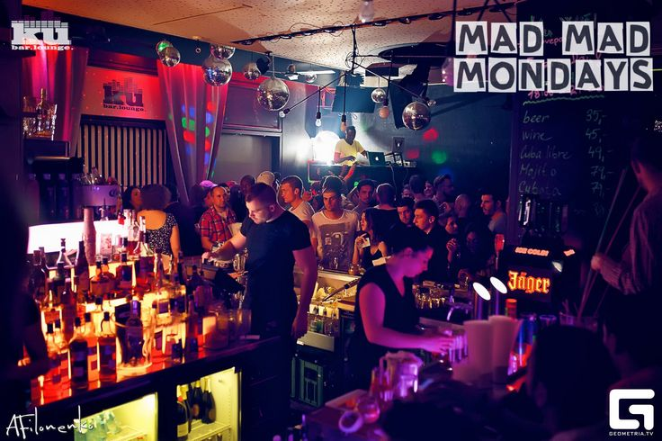 #madmadmonday party - every monday in #kubarlounge . 2 hours open bar for girls & lots of fun  #kubarlounge #prague #praguegirl #party
