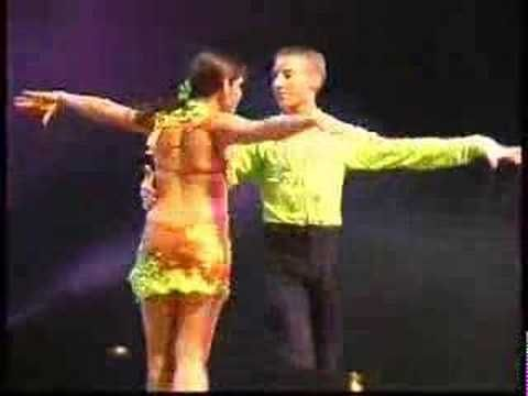 Danse sportive - Danse Latino Cha Cha Cha Rumba