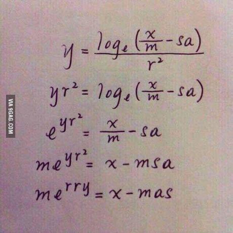 My maths teacher sent me this.