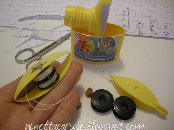 How to make a double bobbin shuttle at home ! Chiacchierino facilissimo: double frivolousness