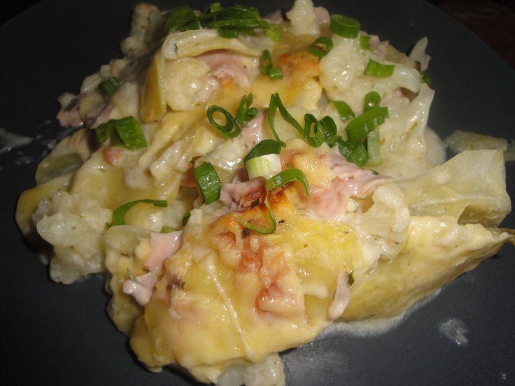 Blumenkohl - Kartoffel - Auflauf, ein gutes Rezept aus der Kategorie Auflauf. Bewertungen: 212. Durchschnitt: Ø 4,3.