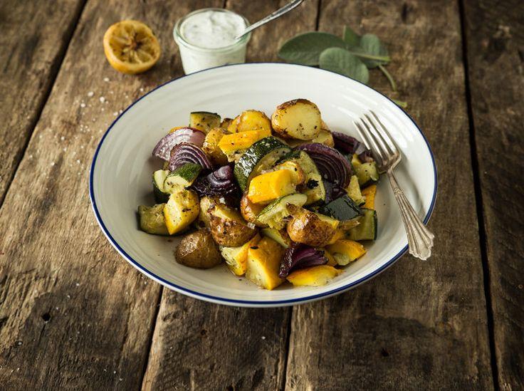 Mediterraner Kartoffelsalat  mit rauchigem Zitronen-Dressing_mag
