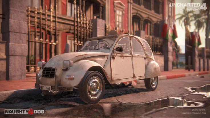ArtStation - Uncharted 4 - Car Texture Work, Jacob Norris