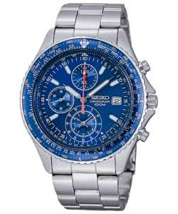 Seiko Men's Pilot Chronograph Watch. Less than half price - now £99 (Was £249.99)