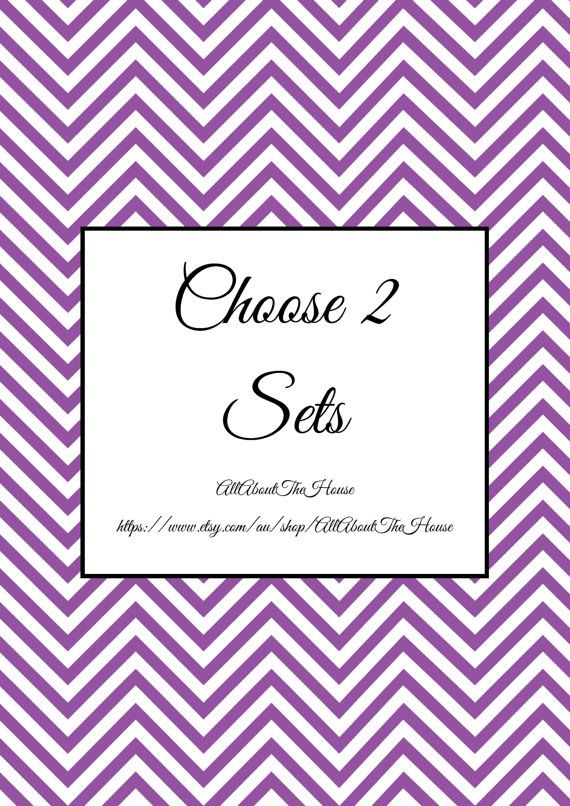Choose 2 Sets  Create Your Own Planner Kit by AllAboutTheHouse, $16.00  Buy cleaning and home!!