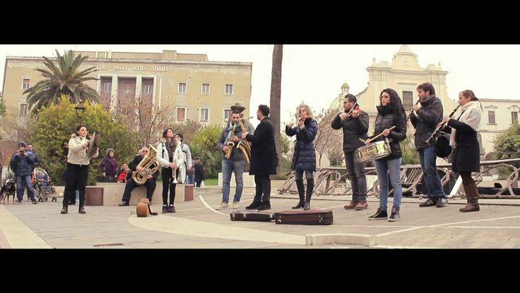 Flashmob | Conservatorio Umberto Giordano - Foggia | 11 - 01 - 2014
