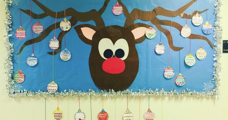 Click HERE  to find it in my tpt store! Hi All! My Easy Reindeer bulletin board is COMPLETE! Once I made and laminated the Reind...