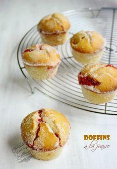 Il était une fois la pâtisserie...: Doffins à la fraise