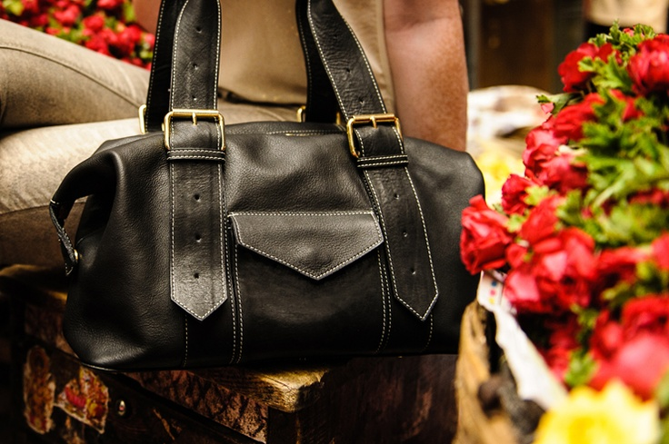 Black Shoulder Bag. Fairtrade. Buy at: www.bettyandbetts.com