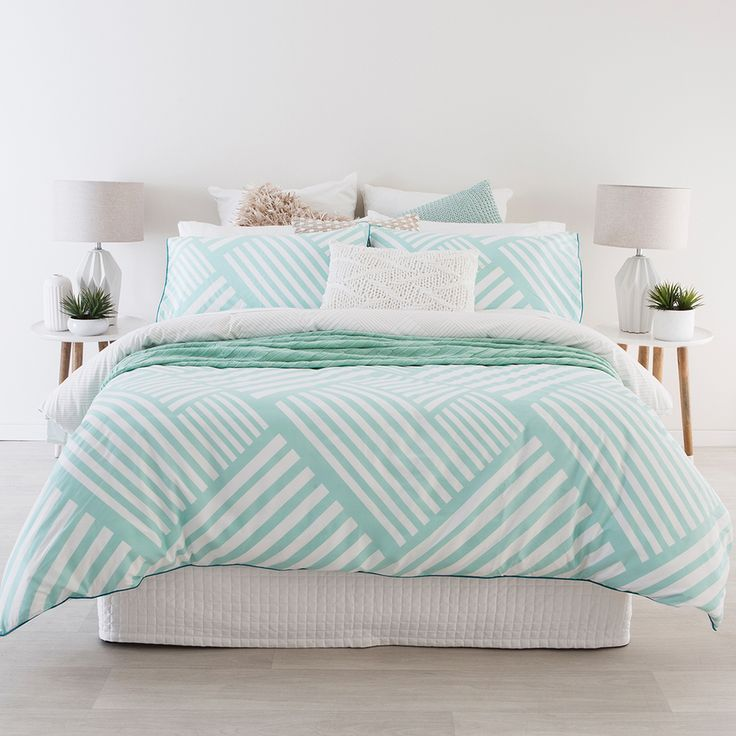 Calippo Aqua Quilt Cover Set - www.pillowtalk.com.au