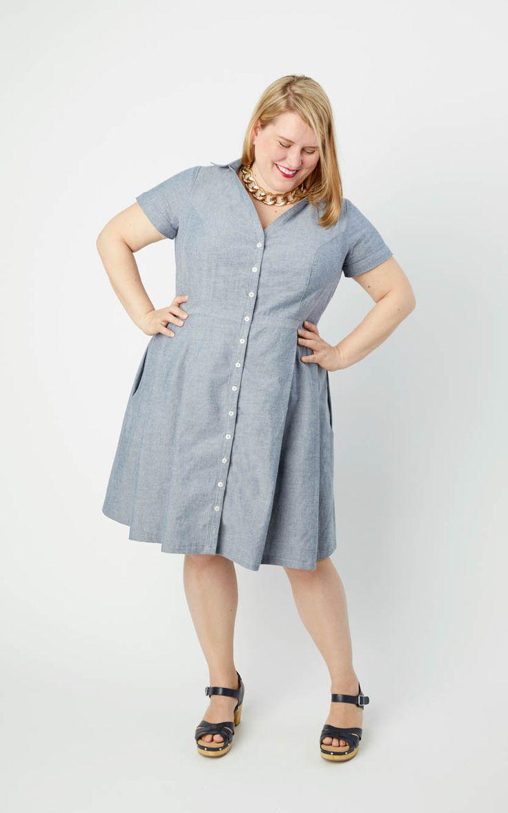 8 best Lenox Shirtdress images on Pinterest | Sewing patterns, Shirt ...