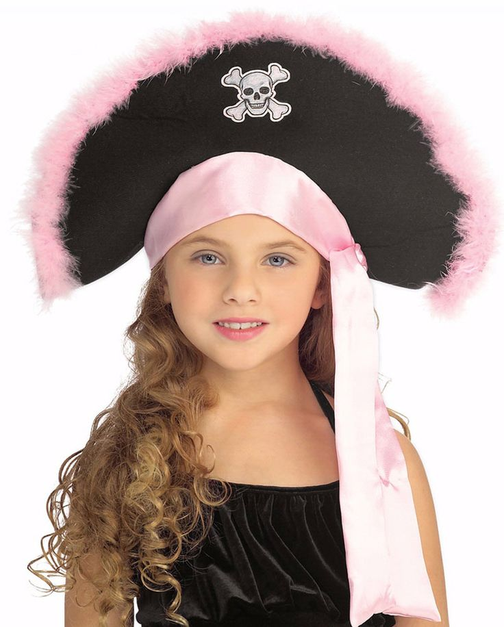 Pink Pirate Hat for Pirate Night on our Disney Dream cruise!